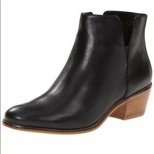 COLE HAAN Abbot Genuine Leather Ankle Bootie 9.5